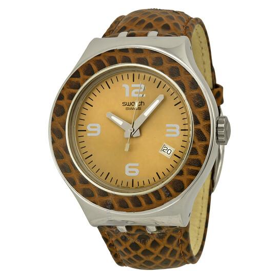 Swatch Open Box - Swatch Wild Roar Irony Nabab Watch YNS421   Joma Shop