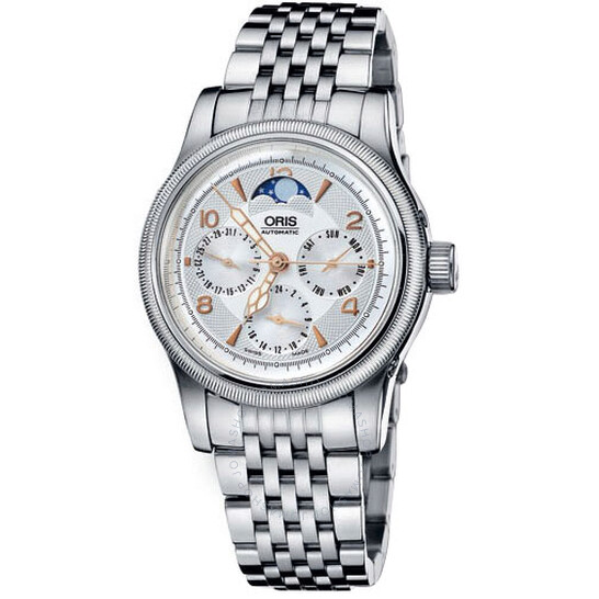 Oris Big Crown Complication Moon Phase Automatic Men's Watch 581-7566-4061MB | Joma Shop