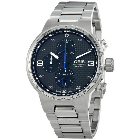 Oris Williams Black Dial Automatic Men's Chronograph Watch 01 774 7717 4164-07 8 24 50   Joma Shop