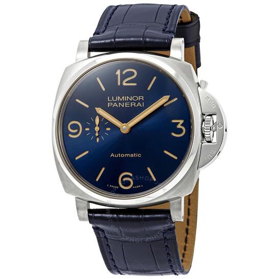 Panerai Luminor Automatic Blue Dial Men's Watch PAM00729   Joma Shop