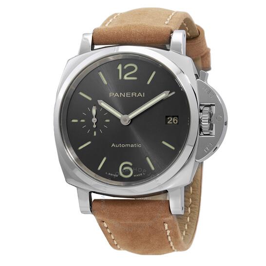 Panerai Luminor Automatic Grey Dial Men's Watch PAM00755   Joma Shop