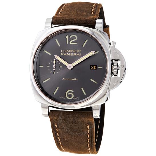 Panerai Luminor Automatic Grey Dial Men's Watch PAM00904 | Joma Shop