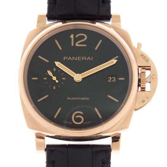 Panerai Luminor Due Automatic Black Dial Men's Watch PAM01041   Joma Shop