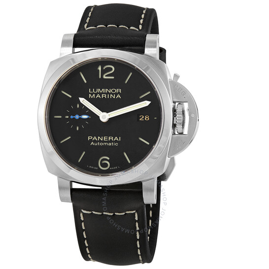 Panerai Luminor Marina 42mm Black Dial Watch PAM02392 | Joma Shop