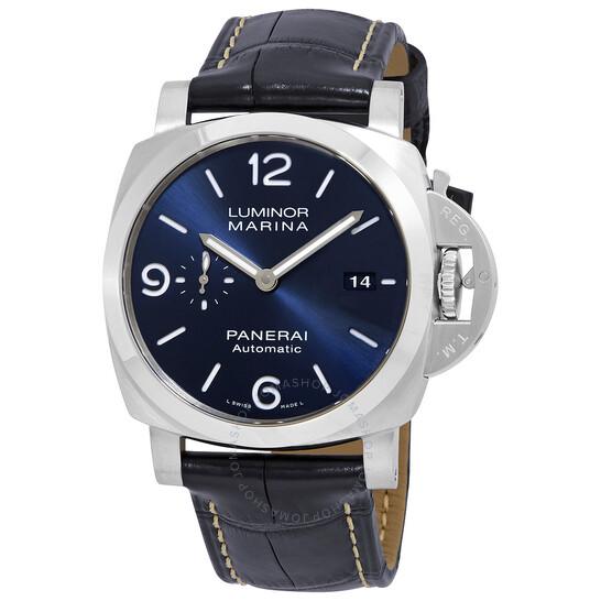 Panerai Luminor Marina Automatic Blue Dial Men's Watch PAM01313 | Joma Shop