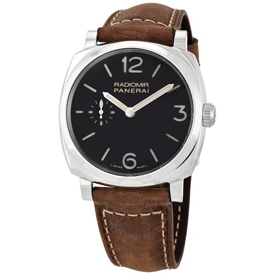 Panerai Radiomir 1940 3 Day Black Dial Men's Watch PAM00574   Joma Shop