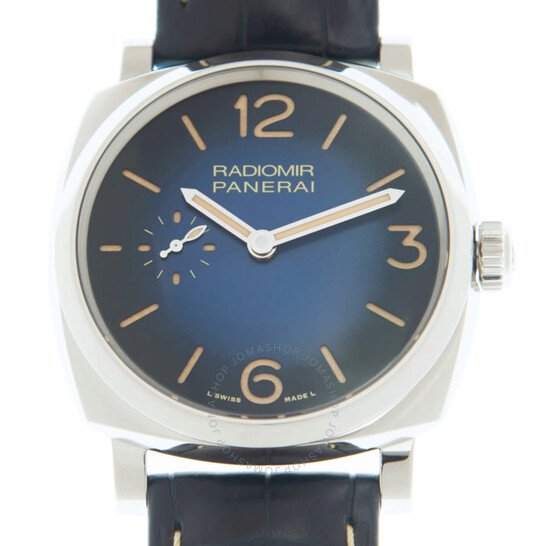 Panerai Radiomir Hand Wind Blue Dial Men's Watch PAM01144 | Joma Shop