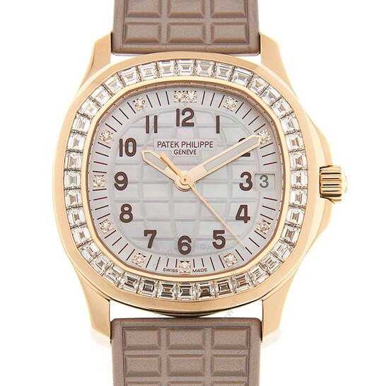 Patek Philippe Aquanaut Luce Haute Joaillerie Automatic Diamond Ladies Watch 5072R-001   Joma Shop
