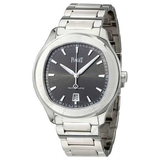 Piaget Polo S Automatic Grey Guilloche Dial Men's Watch G0A41003 | Joma Shop