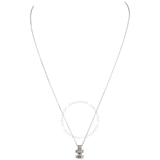 Picasso And Co 18kt White Gold Screw Pendant | Joma Shop