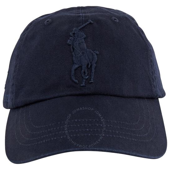 Polo Ralph Lauren Blue Big Pony Chino Cap   Joma Shop