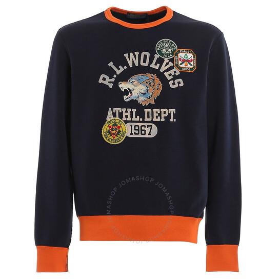 Polo Ralph Lauren Fleece Logo Patch Graphic Sweatshirt, Brand Size X-Small   Joma Shop