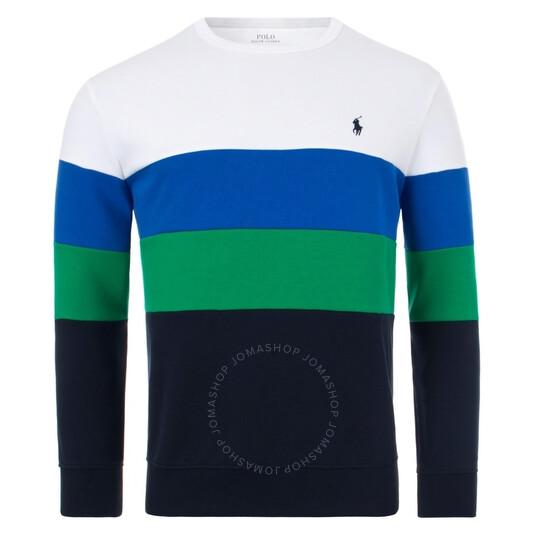 Polo Ralph Lauren Men's Colour-Blocked Sweatshirt, Brand Size Small   Joma Shop