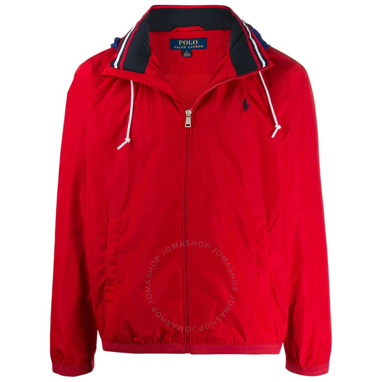 Polo Ralph Lauren Men's Red Amherst Full Zip Jacket, Brand Size Small   Joma Shop