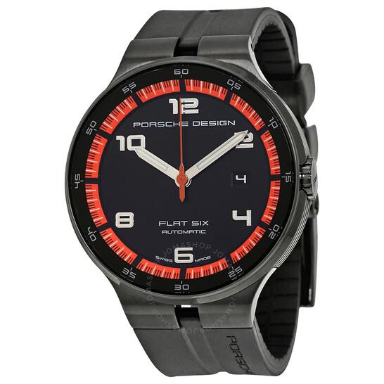 Porsche Design Flat Six Automatic Men's Sports Watch 6350.43.44.1254   Joma Shop
