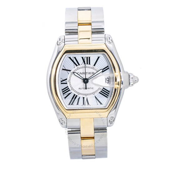 Cartier Pre-owned Cartier Roadster Automatic Silver Dial Men's Watch 2510/W6203144 | Joma Shop