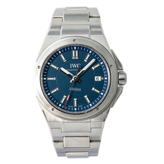 Iwc Pre-owned IWC Ingenieur Automatic Blue Dial Men's Watch IW323902 | Joma Shop