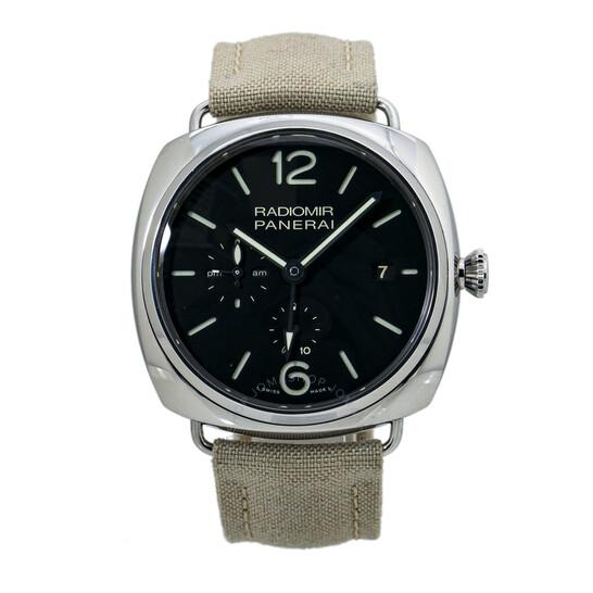Panerai Pre-owned Panerai Radiomir 10 Days GMT Hand Wind Black Dial Men's Watch PAM00323   Joma Shop
