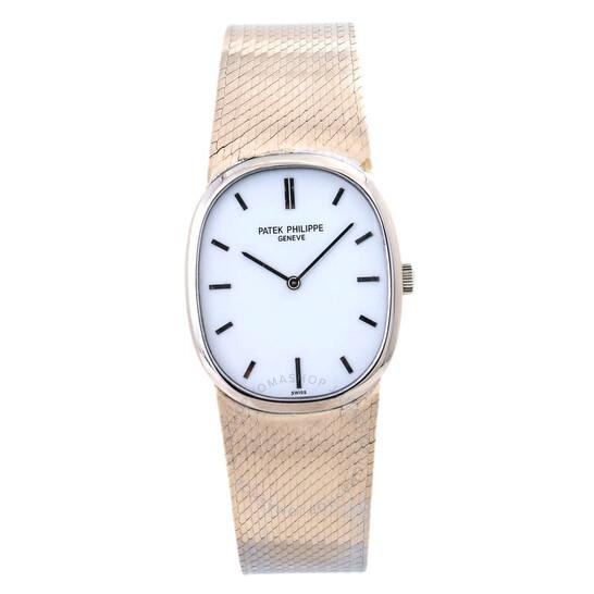 Patek Philippe Pre-owned Patek Philippe Philippe Geneve White Dial Men's Watch 3548   Joma Shop