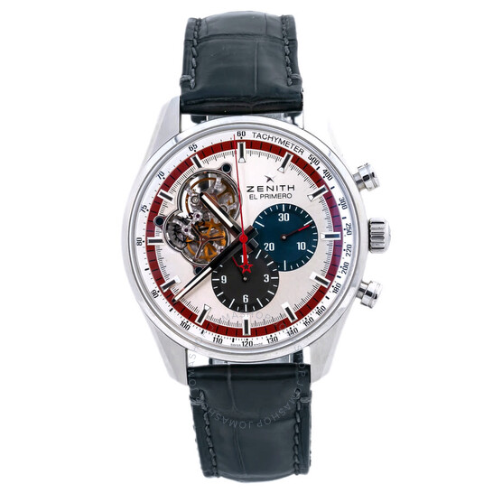 Zenith Pre-owned Zenith El Primero Chronomaster Chronograph Silver-tone Dial Men's Watch 03.2049.4061   Joma Shop