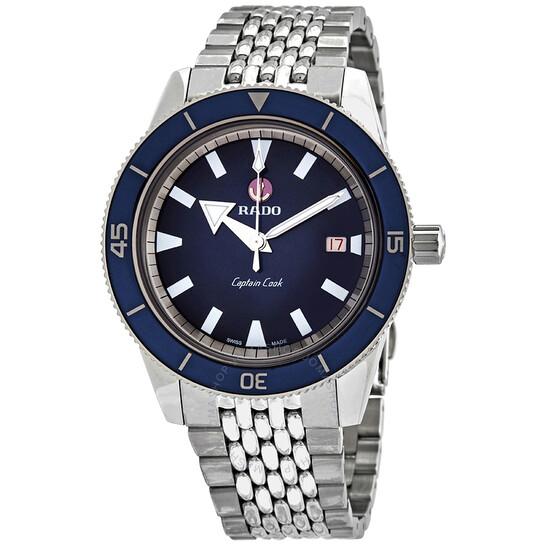 Rado Captain Cook Automatic Blue Dial Men's Watch R32505203 | Joma Shop