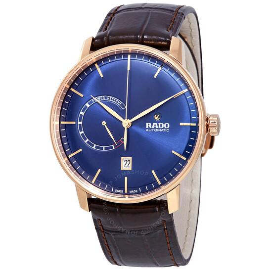 Rado Coupole Classic XL Automatic Blue Dial Men's Watch R22879205   Joma Shop
