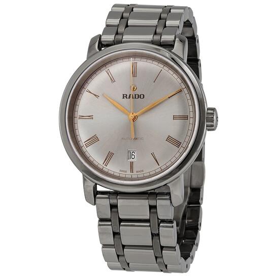 Rado DiaMaster XL Automatic Metallic Silver Dial Men's Watch R14806102 | Joma Shop