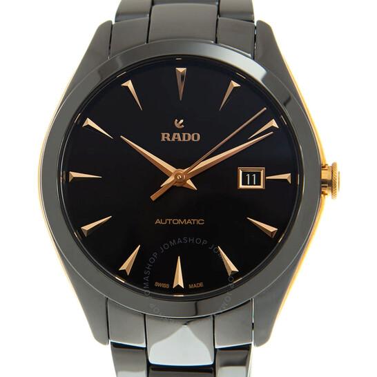 Rado Hyperchrome Automatic Black Dial Men's Watch R32252162   Joma Shop
