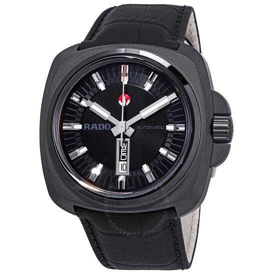 Rado HyperChrome XL Automatic Black Dial Men's Watch R32171155 | Joma Shop