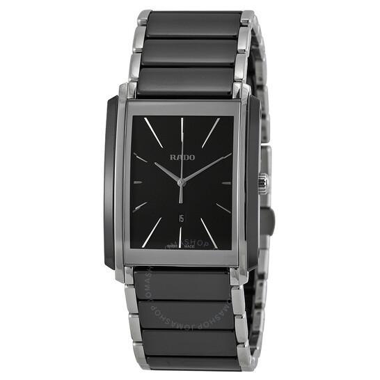 Rado Integral Black Dial Black Ceramic Men's Watch R20963152 | Joma Shop