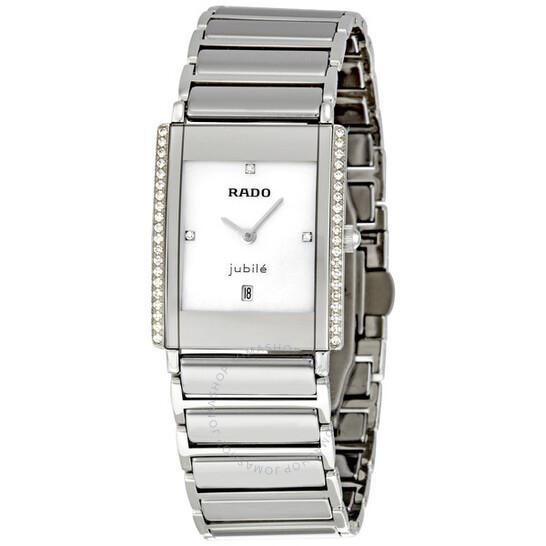 Rado Integral Jubile Large Ceramic Diamond Unisex Watch R20429909   Joma Shop