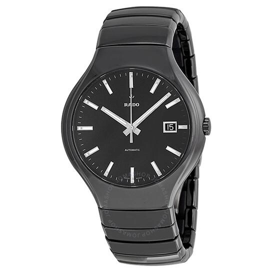 Rado True Black Dial Black Ceramic Men's Watch R27857162   Joma Shop