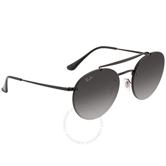 Ray Ban Blaze Round Double Bridge Grey Gradient Round Sunglasses RB3614N 148/11 54 - 546x546