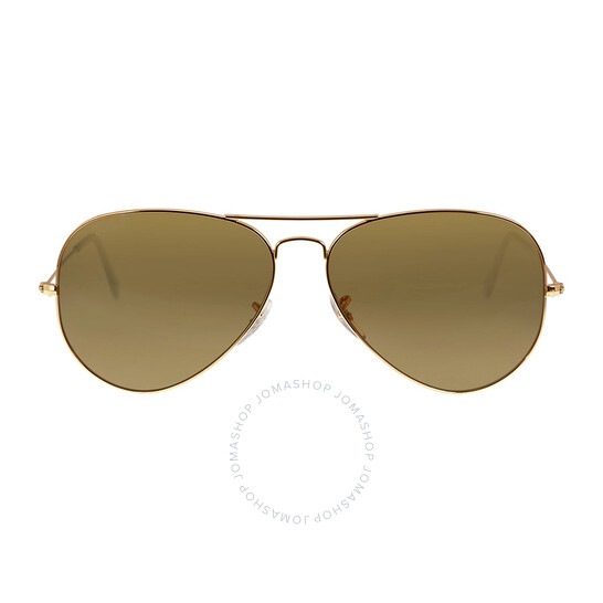 Banana Republic Sunglasses Drew Gold Light Brown Aviator 58-16-140