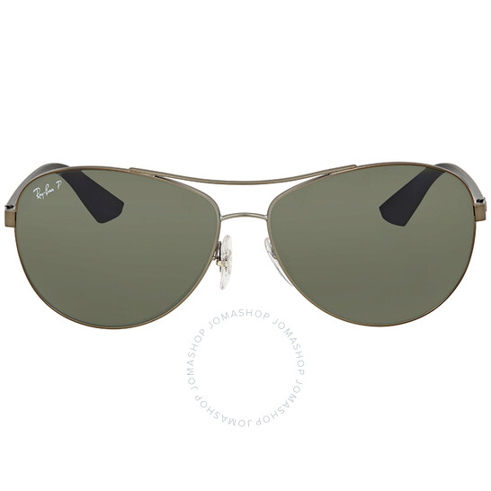 Ray-Ban Polarized Green Classic G-15 Men's Sunglasses (RB3526 029/9A 63)