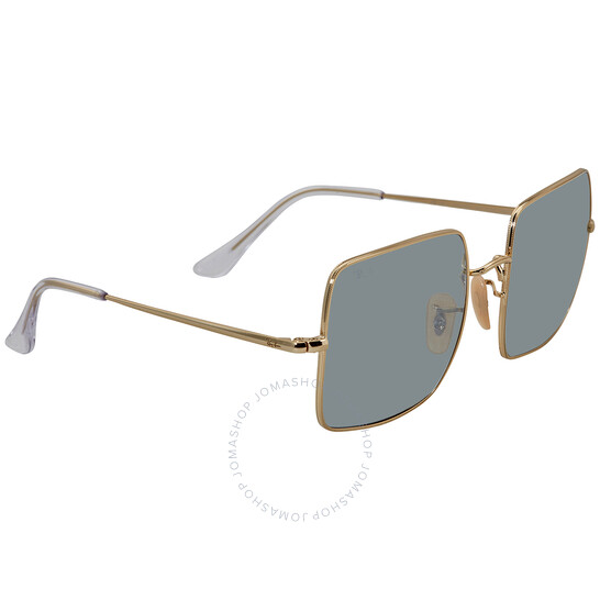 Ray-Ban Shiny Gold Square Sunglasses (RB1971 001/W3 54)