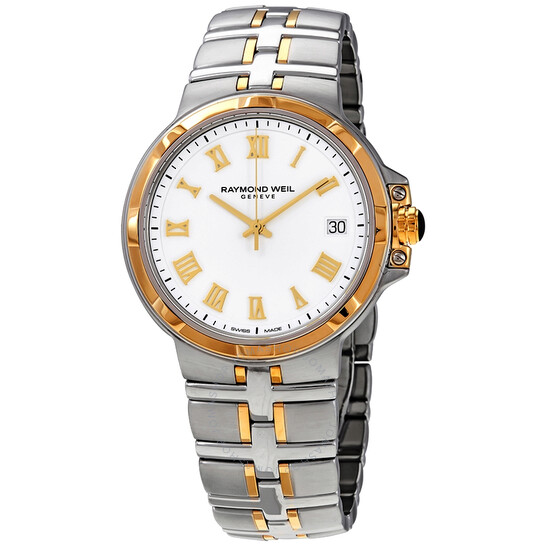 Raymond Weil Parsifal White Dial Men's Watch 5580-STP-00308   Joma Shop
