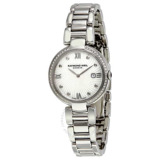 Raymond WeilShine Mother of Pearl Dial Ladies Watch (1600-STS-00995)