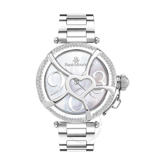 Rene Mouris Coeur D'Amour Mother of Pearl Dial Ladies Watch 50103RM1   Joma Shop