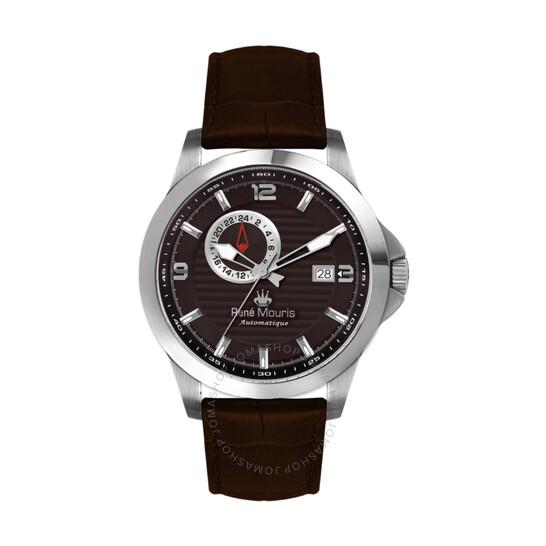 Rene Mouris Cygnus Automatic Brown Dial Men's Watch 70103RM3 | Joma Shop