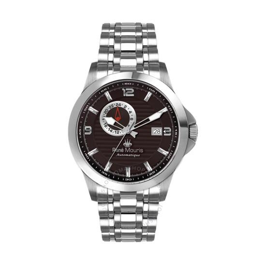 Rene Mouris Cygnus Automatic Brown Dial Men's Watch 70104RM3   Joma Shop