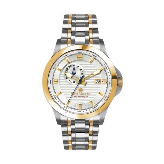 Rene Mouris Cygnus Automatic White Dial Men's Watch 70104RM5   Joma Shop