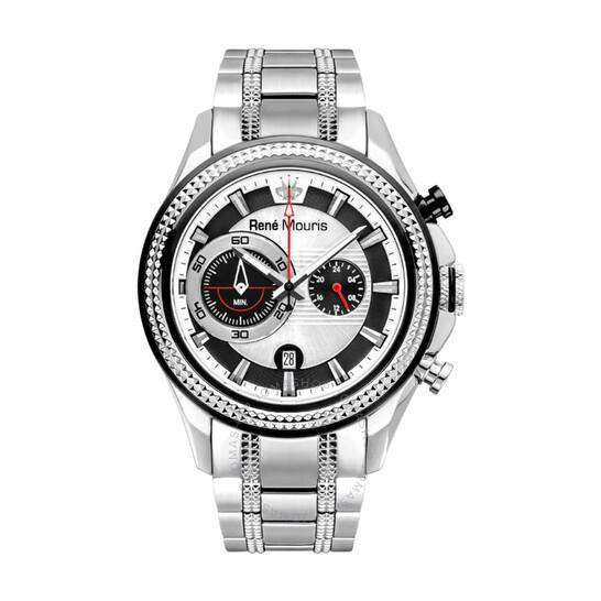Rene Mouris René Mouris Trofeo Chronograph Two-tone Dial Men's Watch 90120RM1   Joma Shop