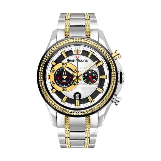 Rene Mouris René Mouris Trofeo Chronograph Two-tone Dial Men's Watch 90120RM3 | Joma Shop