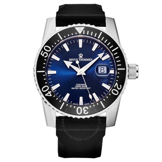revue-thommen-diver-automatic-blue-dial-