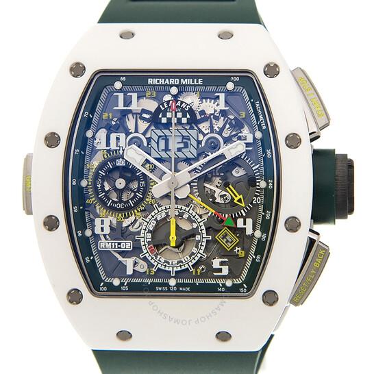 Richard Mille 11-02 Le Mans Classic Chronograph Automatic Men's Watch RM11-02 | Joma Shop
