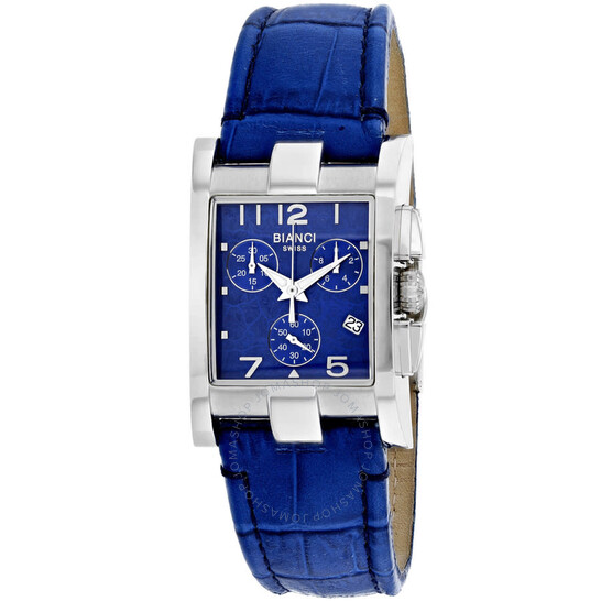 Roberto Bianci Cassandra Chronograph Quartz Blue Dial Ladies Watch RB90362   Joma Shop