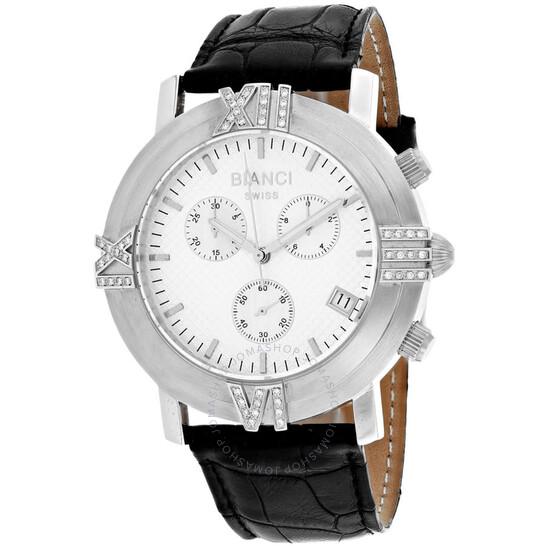 Roberto Bianci Medellin Chronograph Quartz Silver Dial Ladies Watch RB18491 | Joma Shop