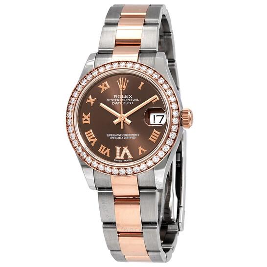 Rolex Datejust 31 Automatic Chronometer Diamond Ladies Watch 278381CHRDO | Joma Shop
