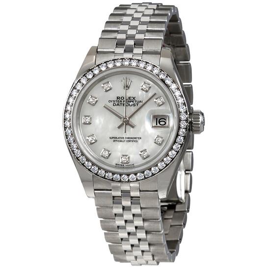 Rolex Lady- Datejust Mother Of Pearl Diamond Dial Ladies Jubilee Watch 279384MDJ | Joma Shop